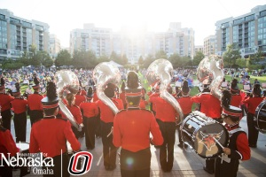 UNO College of IS&T Hosts the End of Summer Concert Series and the Marching Mavs open the show for Judah and the Lion.