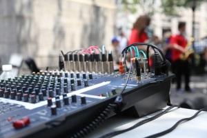 Herald Square mixer
