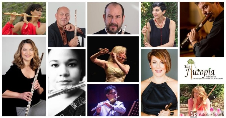 Flutopia Initiative concerto 2020